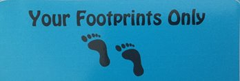 Your Footpints Only